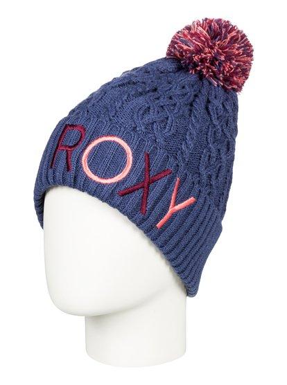Baylee - Bonnet avec pompon pour Fille 8-16 ans - Bleu - Roxy
