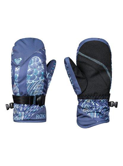 ROXY Jetty - Moufles de ski/snowboard pour Fille 8-16 ans - Bleu - Roxy