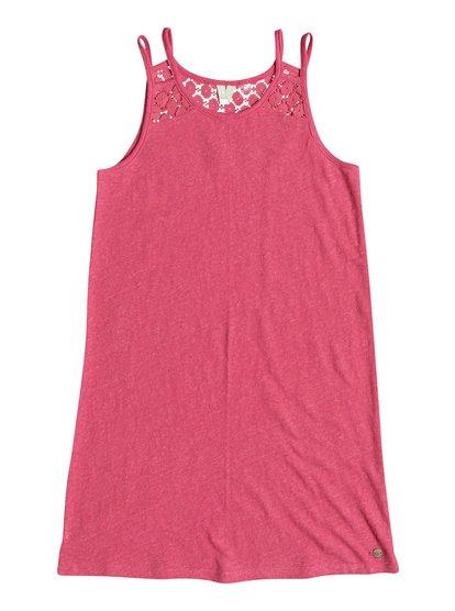 Bright New Day - Robe à bretelles pour Fille - Rose - Roxy