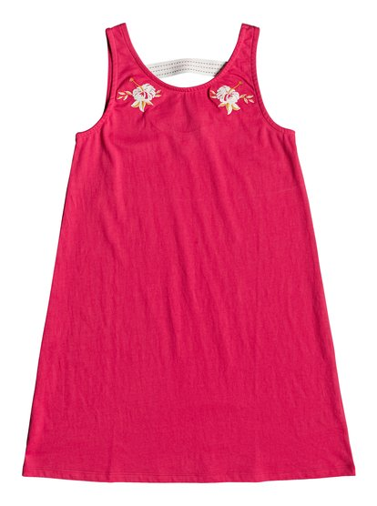 Leaves Movement - Robe sans manches pour Fille 8-16 ans - Rose - Roxy