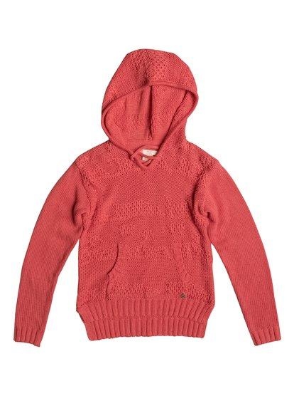 Soft Snowflake - Sweatshirt à capuche pour Fille - Rose - Roxy