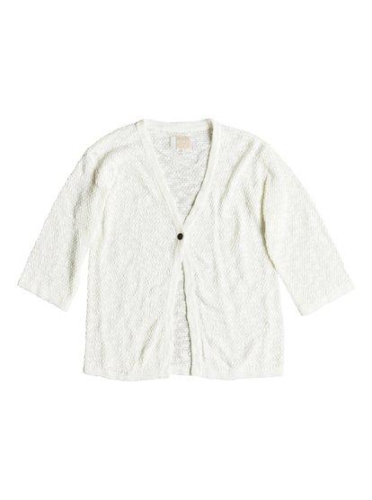 Livin Sunday - Cardigan pour Fille - Blanc - Roxy