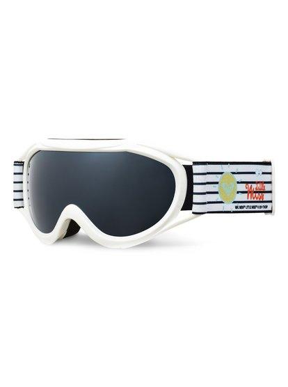 Loola 2.0 Little Miss - Masque de snowboard/ski pour Fille - Blanc - Roxy