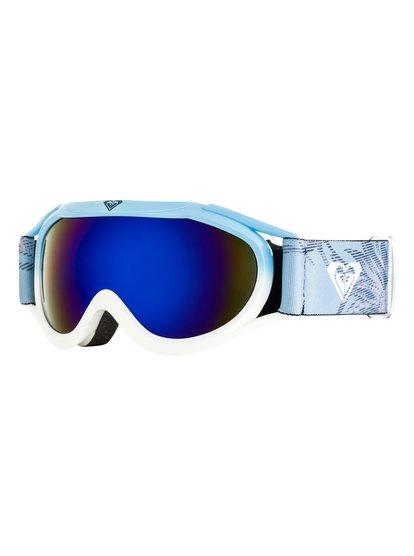f2ae76325f7179 Loola 2.0 - Masque de ski snowboard pour Fille 8-16 ans - Bleu ...