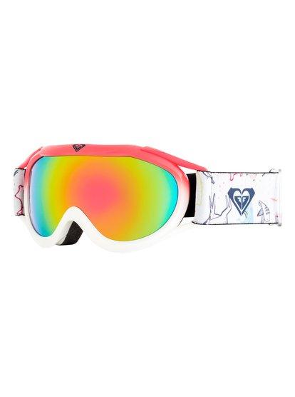 Loola 2.0 - Masque de ski/snowboard pour Fille 8-16 ans - Blanc - Roxy