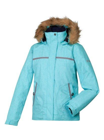 Hazy Girl JkСноубордическая куртка Roxy для девушек из зимней коллекции технологичной спортивной одежды 2014. Характеристики: водостойкая мембрана DRY-FLIGHT 10K (10 / 10), утеплитель 200 г (тело), 140 г (рукава), 60 г (капюшон), фактурная подкладка из тафты и трикотажа.<br>