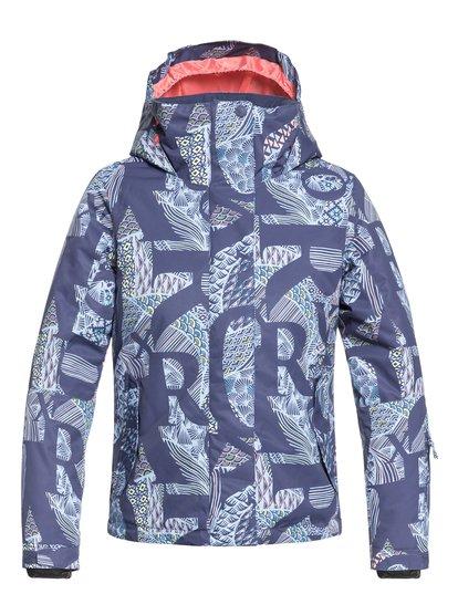 ROXY Jetty - Veste de snow pour Fille 8-16 ans - Bleu - Roxy