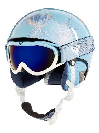 Misty - Pack casque + masque pour Fille 8-16 ans - Bleu - Roxy