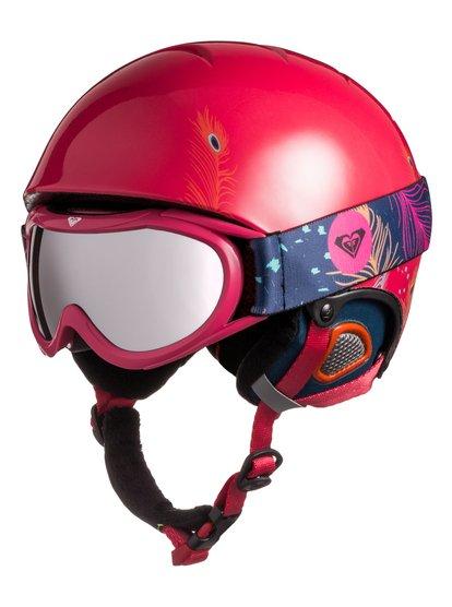 Сноубордический шлем с маской Misty - Синий