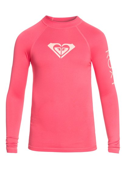 Whole Hearted - Lycra manches longues UPF 50 pour Fille - Rose - Roxy