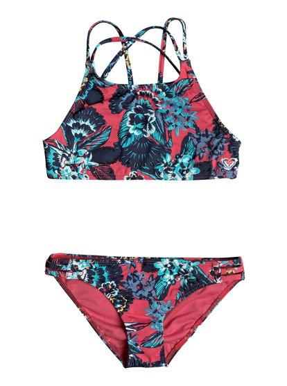 Let The Surf - Crop Top Bikini Set  ERGX203119