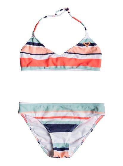 Happy Spring - Haut de bikini bralette triangle pour Fille 8-16 ans - Blanc - Roxy