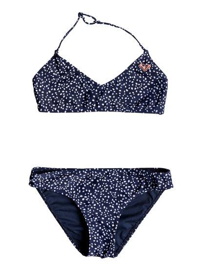 Seaside Lover - Haut de bikini bralette triangle pour Fille 8-16 ans - Bleu - Roxy