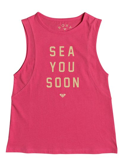 Roxy A Smooth Sea - Vest Top for Girls - Pink - Roxy