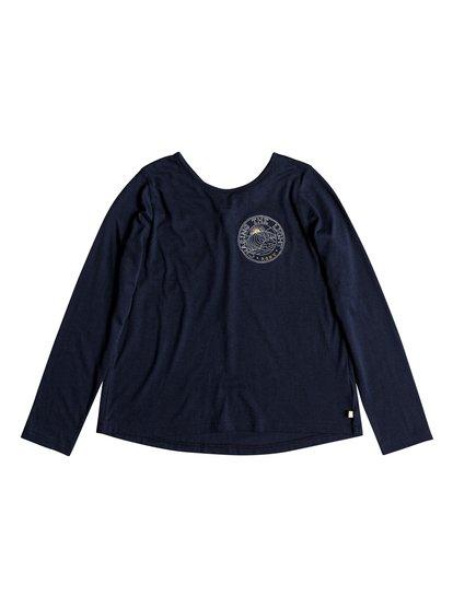 Skinny Love Little Wave - T-shirt manches longues pour Fille 8-16 ans - Bleu - Roxy