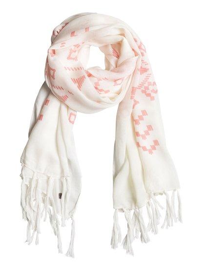 Женский шарф ClaritaЖенский шарф Clarita от Roxy.ХАРАКТЕРИСТИКИ: большая длина, яркая расцветка, мягкий на ощупь текстиль, края с бахромой.СОСТАВ: 100% вискоза.<br>