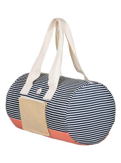 Womens Duffle Sound Duffle BagЖенская сумка-даффл Duffle Sound от ROXY. <br>ХАРАКТЕРИСТИКИ: двойные ручки, идеальный вариант для выходных, застегивается на молнию, передний карман на молнии с блестками. <br>СОСТАВ: 100% полиэстер.<br>