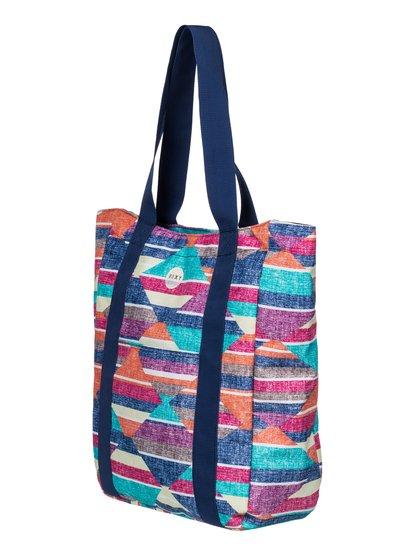 Womens Quicksand Shoulder BagЖенская сумка Quicksand от ROXY. <br>ХАРАКТЕРИСТИКИ: подходит для документов и папок размером А4, основное отделение застегивается на молнию, передний карман на липучке Velcro, внутренний карман на молнии. <br>СОСТАВ: 100% полиэстер.<br>