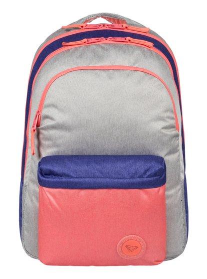 Slow Emotion Colorblock - Medium Backpack  ERJBP03472