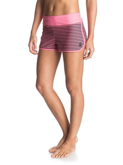 Womens Endless Summer 2 Printed BoardshortsЖенские бордшорты Endless Suммer 2 Printed от ROXY. <br>ХАРАКТЕРИСТИКИ: две расцветки на выбор, задний прорезной карман, декоративный логотип, длина по внутреннему шву 5,1 см. <br>СОСТАВ: 87% переработанный полиэстер, 13% эластан.<br>