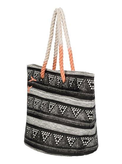 Sun Seeker Beach ToteЖенская пляжная сумка-тоут Sun Seeker от ROXY.ХАРАКТЕРИСТИКИ: изделие из соломы, идеальный выбор для поездки на пляж, модные веревочные ручки, логотип ROXY.СОСТАВ: 100% бумага.<br>