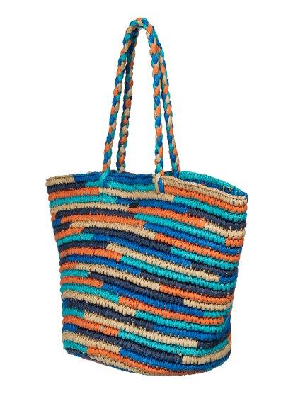 Butternut Beach ToteЖенская пляжная сумка-тоут Butternut от ROXY.ХАРАКТЕРИСТИКИ: разноцветный дизайн, соломенное изделие, идеальный выбор для поездки на пляж, плетеные ручки.СОСТАВ: 100% бумага.<br>