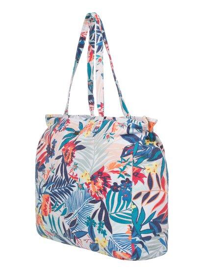 Пляжная сумка-тоут It FavoriteЖенская пляжная сумка-тоут It Favorite от Roxy.ХАРАКТЕРИСТИКИ: большой размер, парусина с пигментной обработкой, застегивается на молнию, накладной карман внутри.СОСТАВ: 100% хлопок.<br>