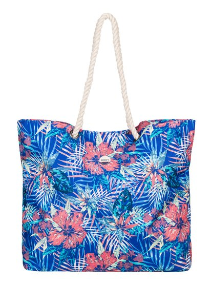 Printed Tropical Vibe - Printed Beach Bag  ERJBT03049