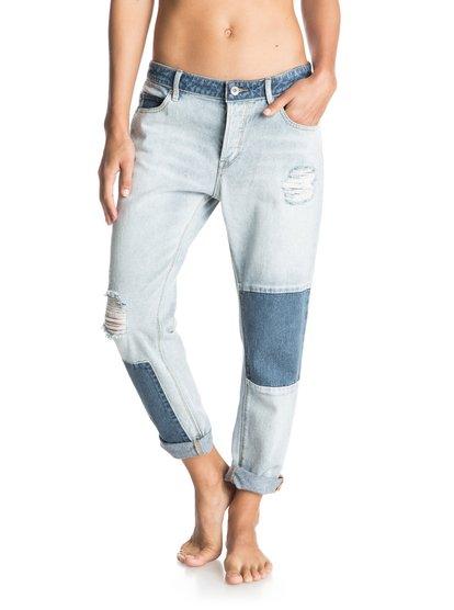 Rider Patch - Boyfriend Fit Jeans  ERJDP03058