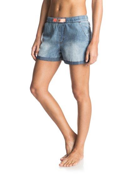Fonxy Denim Denim Shorts от Roxy RU