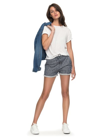 Trippin Stripe - Sweat Shorts  ERJFB03152