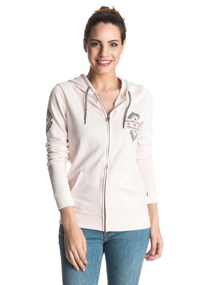 Tropical Bazaar Cross Waves - Zip-Up Hoodie  ERJFT03358