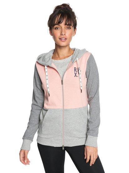Dress Like You Re - Sweat à capuche zippé pour Femme - Rose - Roxy
