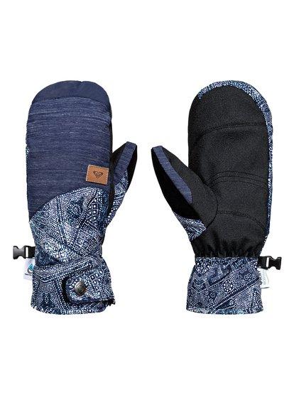 Vermont - Moufles de snowboard/ski pour Femme - Bleu - Roxy