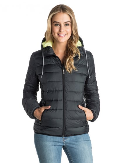 Forever Freely Quilted Puffer Jacket от Roxy RU