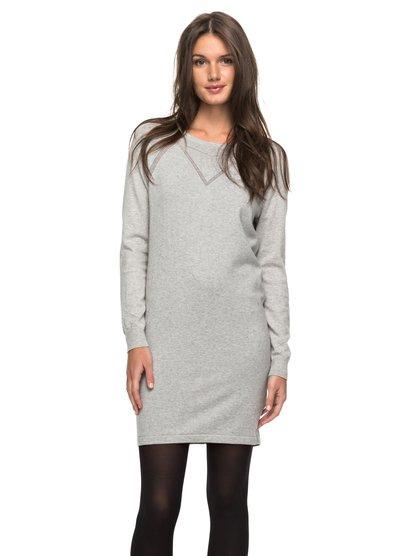Winter Story - Long Sleeve Button-Back Dress  ERJKD03139