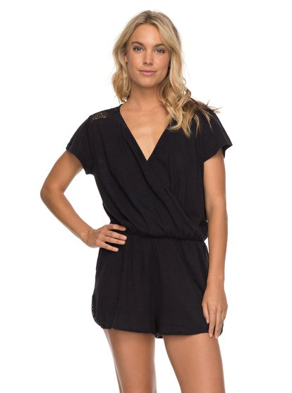 Salty Evening - Short Sleeve Playsuit  ERJKD03168