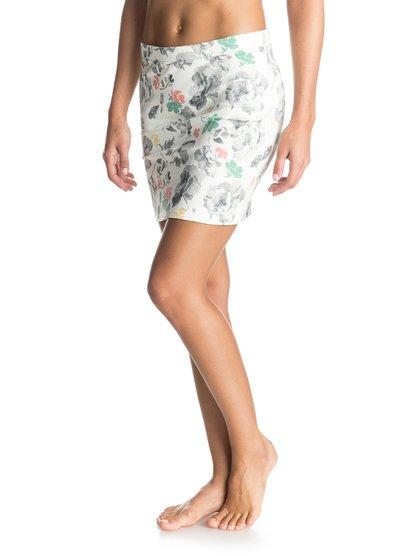 Womens Livin It Up SkirtЖенская юбка Livin It Up от ROXY.ХАРАКТЕРИСТИКИ: с принтом, короткая длина, цветочный принт, удобный эластичный хлопок.СОСТАВ: 95% хлопок, 5% эластан.<br>