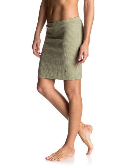 Мини-юбка в обтяжку Thinkin Out LoudТкань двойной вязки из мягкой и эластичной полусинтетики, фактурная поверхность и высокая линия талии: такая обтягивающая юбка – прекрасная основа для женственного и современного образа. Будет чудесно смотреться с бюстье и парой босоножек!<br>