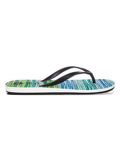 BambooBamboo – новинка из коллекции обуви Roxy Весна-лето 2015. Характеристики: женские шлепанцы, мягкий каучуковый верх, эмалевый логотип-сердечко Roxy. Дополнительно: стелька из полимера EVA двойной плотности, состав – ВЕРХ: 100% пластик / ПОДОШВА: 100% каучук.<br>