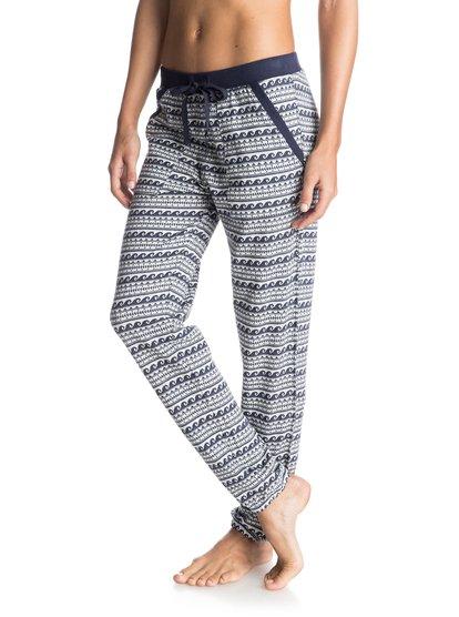 Incommunicado JoggersЖенские штаны для бега Inco ммunicado от ROXY.ХАРАКТЕРИСТИКИ: эластичный пояс, сплошной жаккардовый узор, тканое полотно, отделка в стиле color block.СОСТАВ: 100% хлопок.<br>
