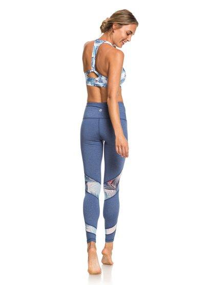 Diamond Hunter - Legging de sport pour Femme - Bleu - Roxy