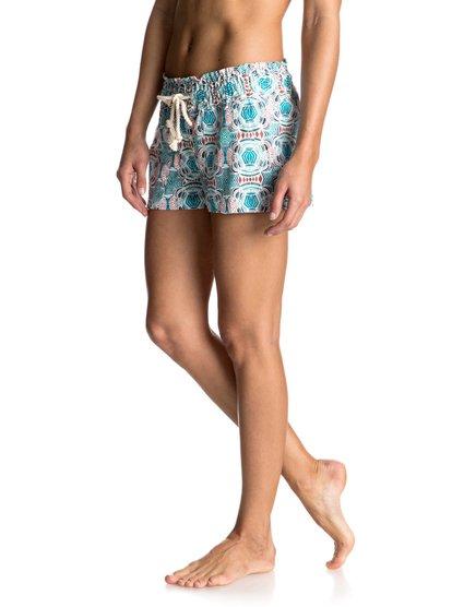Льняные шорты Oceanside Printed<br>