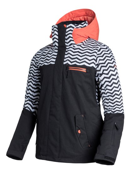 Jetty BlockЖенская сноубордическая куртка Jetty Block из сноубордической коллекции Roxy. ХАРАКТЕРИСТИКИ: критические швы проклеены, капюшон с регулировкой, съемный капюшон, противоснежная юбка из тафты, система прикрепления штанов к куртке. СОСТАВ: 100% полиэстер.<br>
