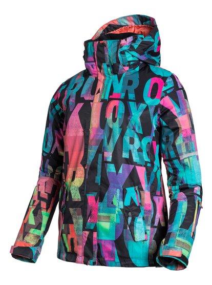 JettyЖенская сноубордическая куртка Jetty из сноубордической коллекции Roxy. ХАРАКТЕРИСТИКИ: критические швы проклеены, капюшон с регулировкой, съемный капюшон, противоснежная юбка из тафты, система прикрепления штанов к куртке. СОСТАВ: 100% полиэстер.<br>