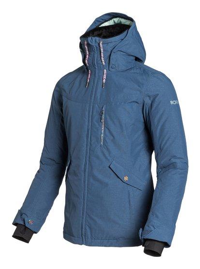 WildlifeЖенская сноубордическая куртка Wildlife из сноубордической коллекции Roxy. ХАРАКТЕРИСТИКИ: полностью проклеенные швы, капюшон с регулировкой, съемный капюшон, противоснежная юбка из тафты, система прикрепления штанов к куртке. СОСТАВ: 96% полиэстер, 4% нейлон.<br>