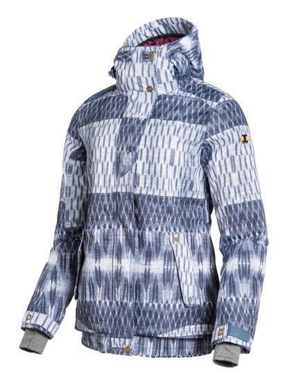 JunoЖенская сноубордическая куртка Juno из сноубордической коллекции Roxy. ХАРАКТЕРИСТИКИ: полностью проклеенные швы, капюшон с регулировкой, фиксированный капюшон, противоснежная юбка из тафты, система прикрепления штанов к куртке. СОСТАВ: 100% полиэстер.<br>