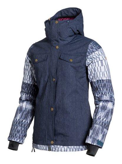CederЖенская сноубордическая куртка Ceder из сноубордической коллекции Roxy. ХАРАКТЕРИСТИКИ: критические швы проклеены, капюшон с регулировкой, фиксированный капюшон, противоснежная юбка из тафты, система прикрепления штанов к куртке. СОСТАВ: 83% нейлон, 17% полиэстер.<br>