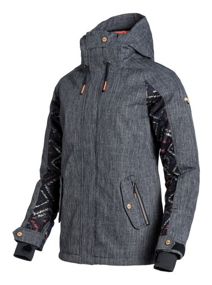 LodgeЖенская сноубордическая куртка Lodge из сноубордической коллекции Roxy. ХАРАКТЕРИСТИКИ: критические швы проклеены, капюшон с регулировкой, фиксированный капюшон, противоснежная юбка из тафты, система прикрепления штанов к куртке. СОСТАВ: 100% полиэстер.<br>