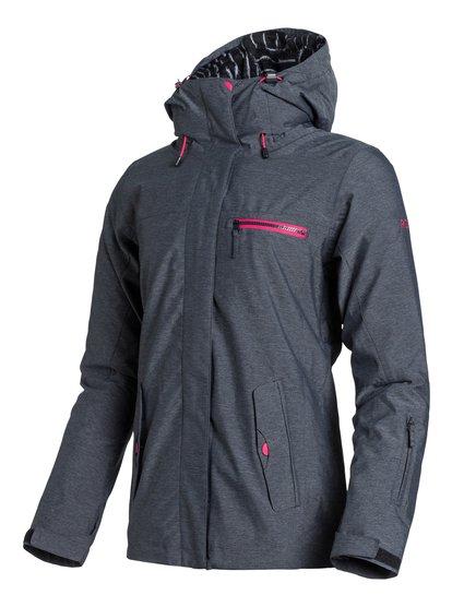 Jetty 3N1Женская сноубордическая куртка Jetty 3N1 из сноубордической коллекции Roxy. ХАРАКТЕРИСТИКИ: критические швы проклеены, съемная флисовая подкладка, капюшон с регулировкой, фиксированный капюшон, противоснежная юбка из тафты. СОСТАВ: 100% полиэстер.<br>